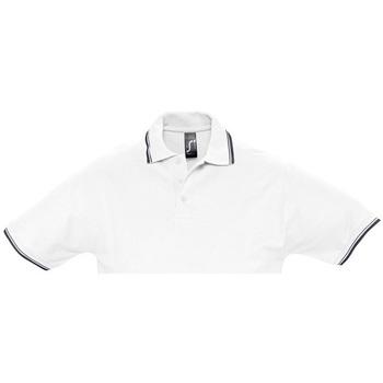 Textil Homem Polos mangas curta Sols PRACTICE GOLF SPORT Blanco