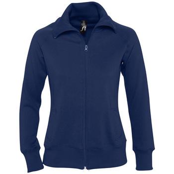 Textil Mulher Sweats Sols SODA WOMEN SPORT Azul