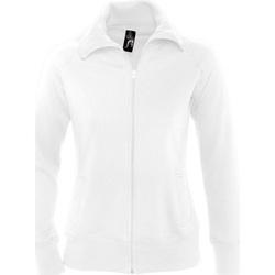 Textil Mulher Sweats Sols SODA WOMEN SPORT Blanco