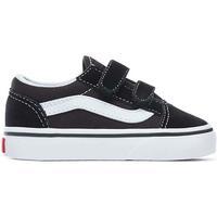 Sapatos Rapaz Sapatilhas Vans  Negro