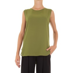 Textil Mulher Tops / Blusas Le Streghe SA19AD109 Verde