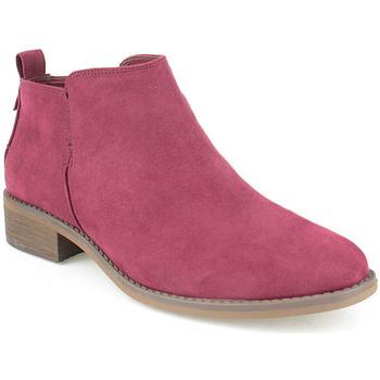 Sapatos Mulher Botas baixas Azarey L Boot Lady Bordo