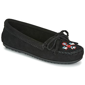 Sapatos Mulher Mocassins Minnetonka THUNDERBIRD II Preto