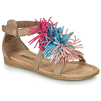 Sapatos Rapariga Sandálias Minnetonka ELOISE Toupeira