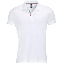 Textil Homem Polos mangas curta Sols PATRIOT FASHION MEN Blanco
