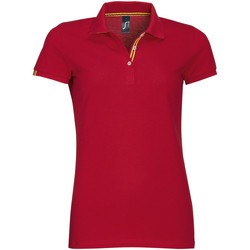 Textil Mulher Polos mangas curta Sols PATRIOT FASHION WOMEN Rojo
