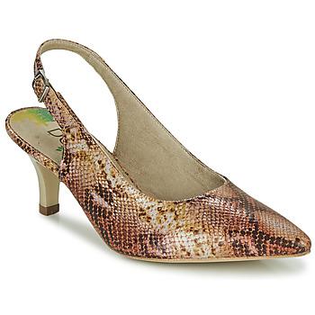 Sapatos Mulher Escarpim Dorking MOON Castanho