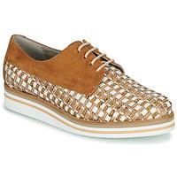 Sapatos Mulher Sapatos Dorking ROMY Castanho / Branco