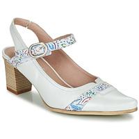 Sapatos Mulher Escarpim Dorking LEA Branco
