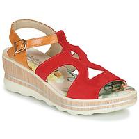 Sapatos Mulher Sandálias Dorking YAP Vermelho