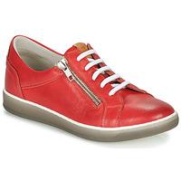 Sapatos Mulher Sapatilhas Dorking KAREN Vermelho / Bege