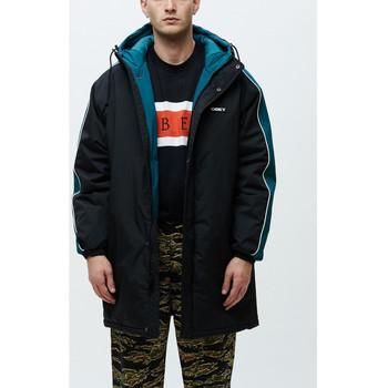 Textil Homem Corta vento Obey Major stadium jacket Preto
