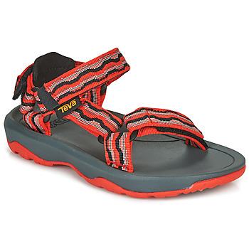 Sapatos Rapariga Sandálias Teva HURRICANE XLT2 Vermelho / Preto