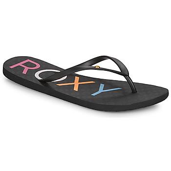 Sapatos Mulher Chinelos Roxy SANDY III Preto