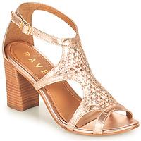 Sapatos Mulher Sandálias Ravel COREEN Rosa / Ouro