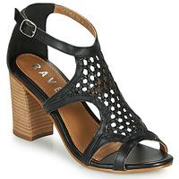 Sapatos Mulher Sandálias Ravel COREEN Preto