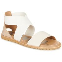Sapatos Mulher Sandálias Sorel ELLA SANDAL Branco / Bege