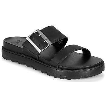 Sapatos Mulher Sandálias Sorel ROAMING BUCKLE SLIDE Preto