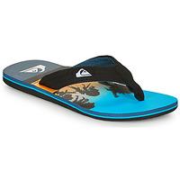 Sapatos Homem Chinelos Quiksilver MOLOKAI LAYBACK Azul / Preto