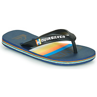 Sapatos Criança Chinelos Quiksilver MOLOKAI SLAB Azul / Laranja / Preto