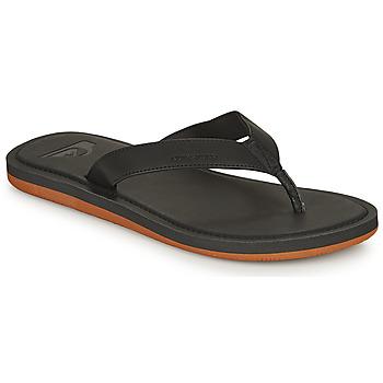 Sapatos Homem Chinelos Quiksilver MOLOKAI NUBUCK II Preto