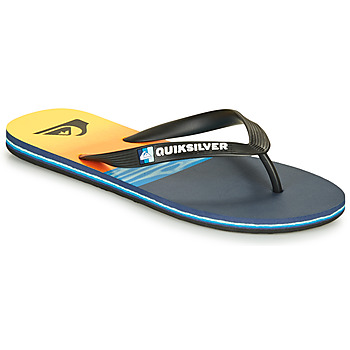 Sapatos Homem Chinelos Quiksilver MOLOKAI HOLD DOWN Preto / Azul