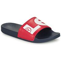 Sapatos Homem chinelos Levi's JUNE L Azul / Vermelho