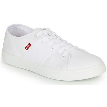 Sapatos Homem Sapatilhas Levi's PILLSBURY Branco