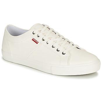 Sapatos Homem Sapatilhas Levi's WOODWARD Branco