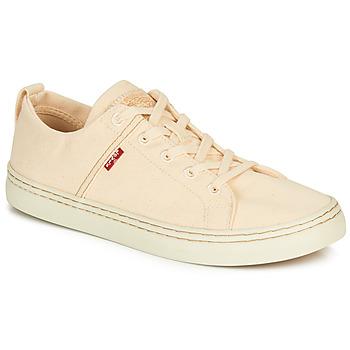 Sapatos Homem Sapatilhas Levi's SHERWOOD LOW Bege