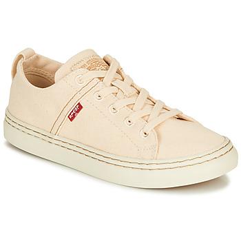 Sapatos Mulher Sapatilhas Levi's SHERWOOD S LOW Bege