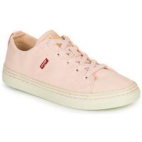 Sapatos Mulher Sapatilhas Levi's SHERWOOD S LOW Rosa