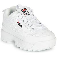 Sapatos Criança Sapatilhas Fila Disruptor Infants Branco