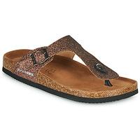 Sapatos Mulher Chinelos Les Petites Bombes TANIA Bronze