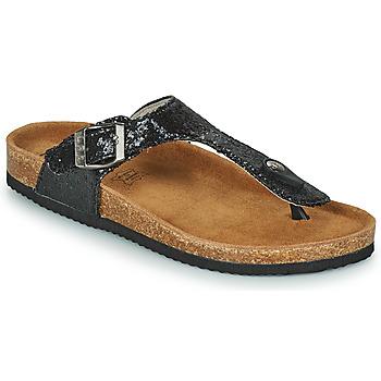 Sapatos Mulher Chinelos Les Petites Bombes TANIA Preto