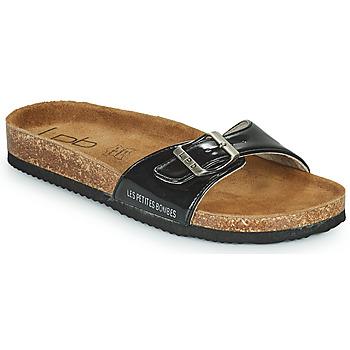Sapatos Mulher Chinelos Les Petites Bombes ROSA Preto