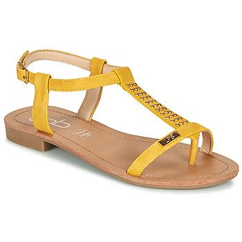 Sapatos Mulher Sandálias Les Petites Bombes EMILIE Mostarda