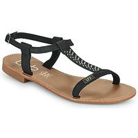Sapatos Mulher Sandálias Les Petites Bombes EMILIE Preto