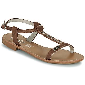 Sapatos Mulher Sandálias Les Petites Bombes EMILIE Camel
