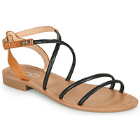 Sapatos Mulher Sandálias Les Petites Bombes EDEN Preto