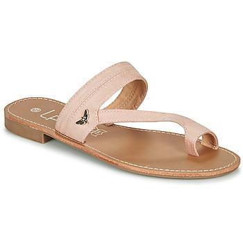 Sapatos Mulher Chinelos Les Petites Bombes EVA Branco / Prata