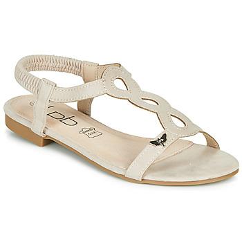 Sapatos Mulher Sandálias Les Petites Bombes FLORA Bege