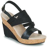 Sapatos Mulher Sandálias Les Petites Bombes MELINE Preto