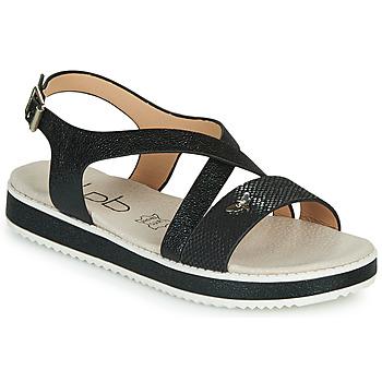Sapatos Mulher Sandálias Les Petites Bombes MARIA Preto