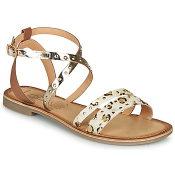 Sapatos Mulher Sandálias Les Petites Bombes AGATHE Ouro