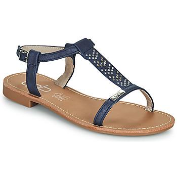 Sapatos Mulher Sandálias Les Petites Bombes EMILIE Marinho