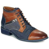 Sapatos Homem Botas baixas Kdopa BILLY Castanho / Azul