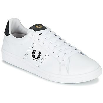 Sapatos Homem Sapatilhas Fred Perry B721 LEATHER Branco