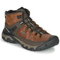 Sapatos Homem Sapatos de caminhada Keen TARGHEE III MID WP Castanho