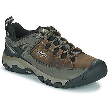 Sapatos Homem Sapatos de caminhada Keen TARGHEE III WP Castanho